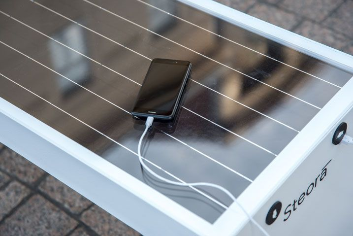 Five Smart Solar Benches Installed in Budva 3