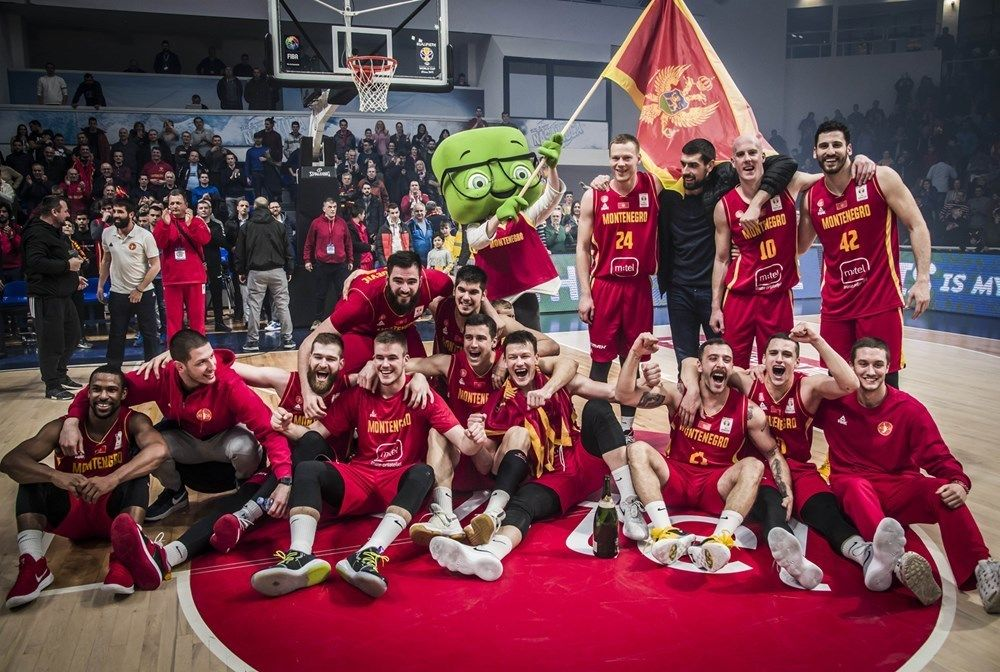 Montenegro Qualifies for the Basketball World Cup in China1