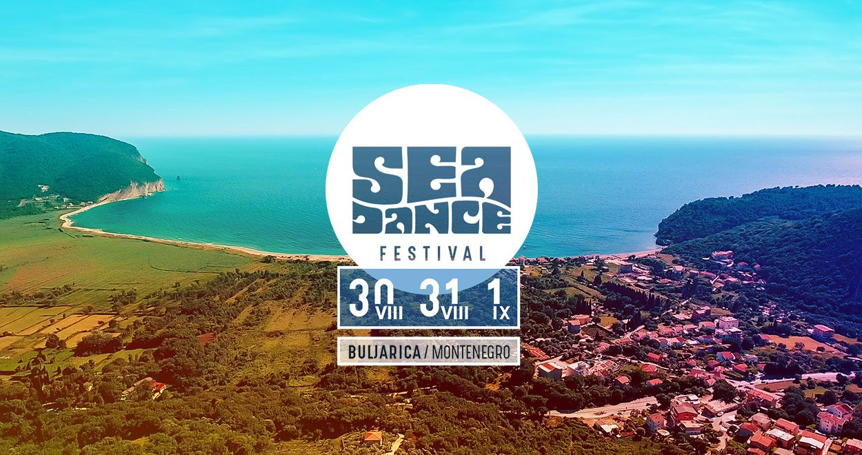 Music Festivals in Montenegro 2018 Sea Dance