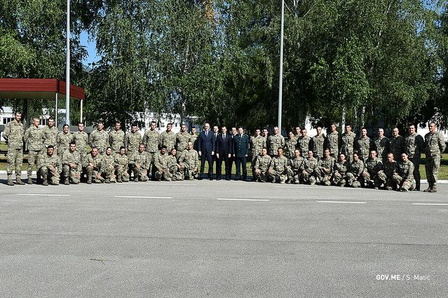 First Class of Military Service Volunteers Completed in Montenegro1
