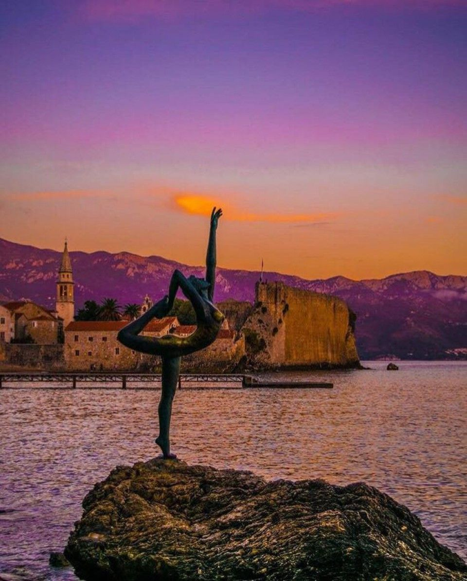 Mogren Beach Ballerina The Myth and Symbol of Budva1