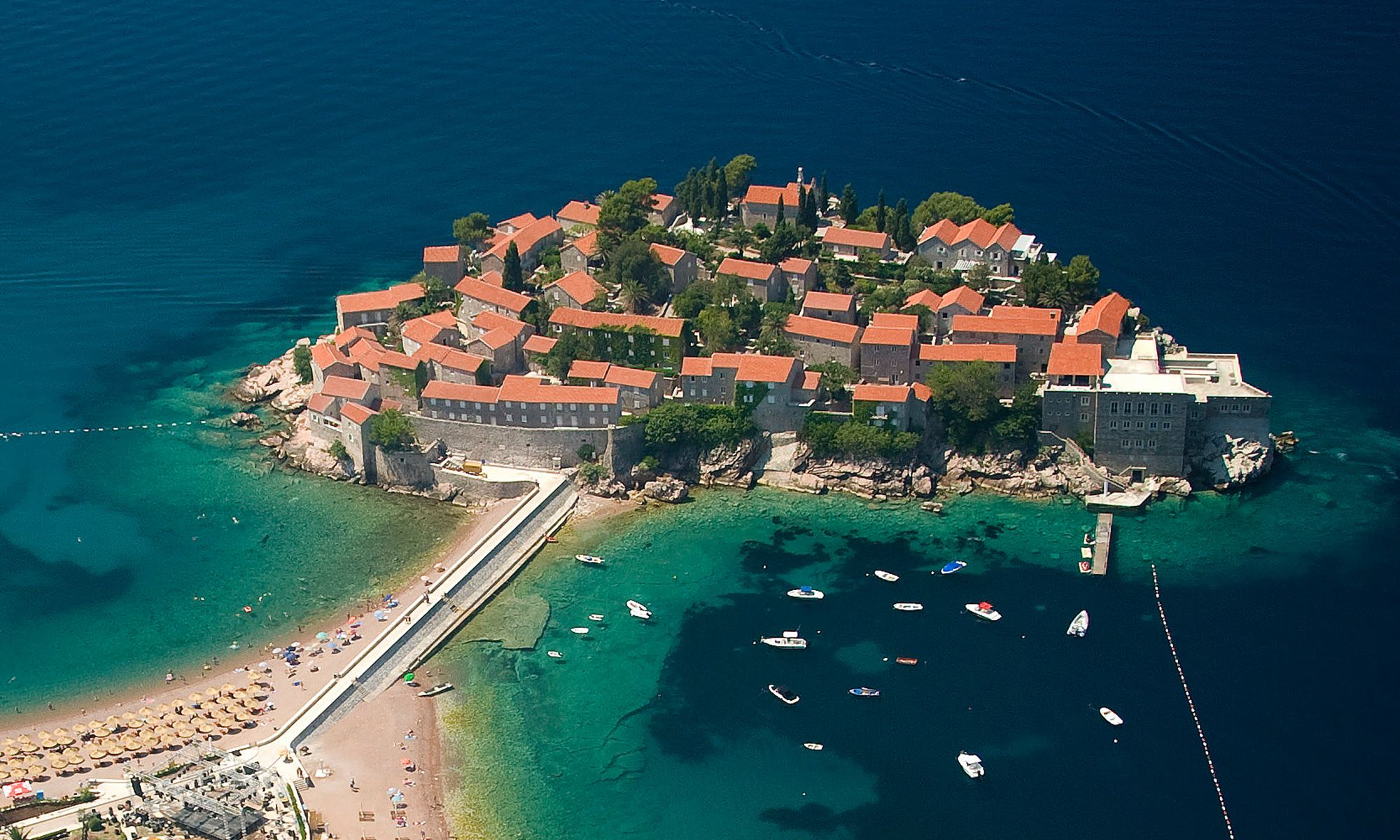 Beach on Sveti Stefan Included in 30 of The Most Stunning Beaches in Europe List