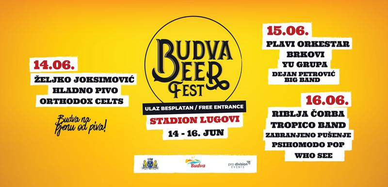 Budva Beer Fest Starts Friday June 14 Full Program and Timetable Announced 3