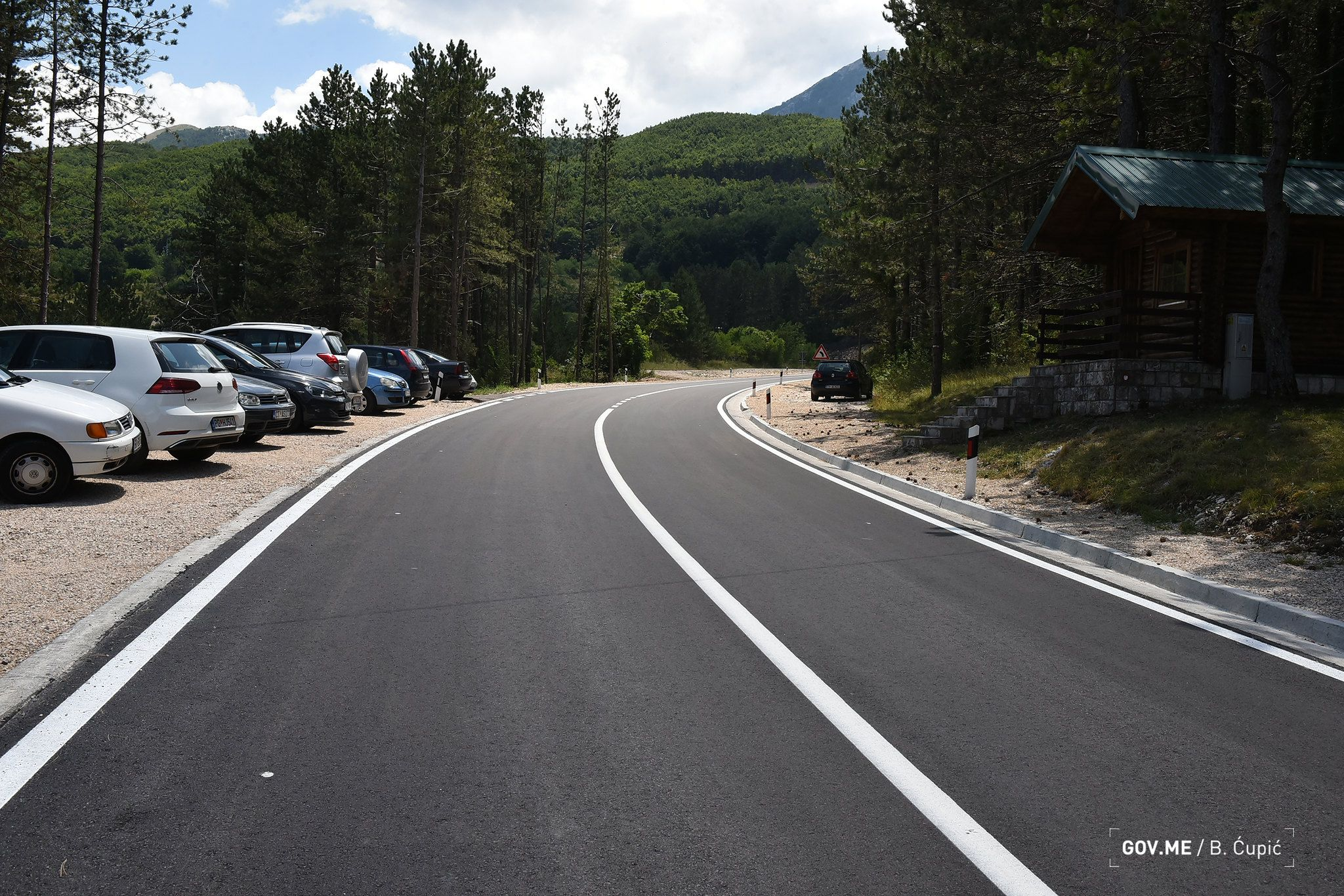 Lovćen Krstac Road Finished Development of New and Modern Montenegro1