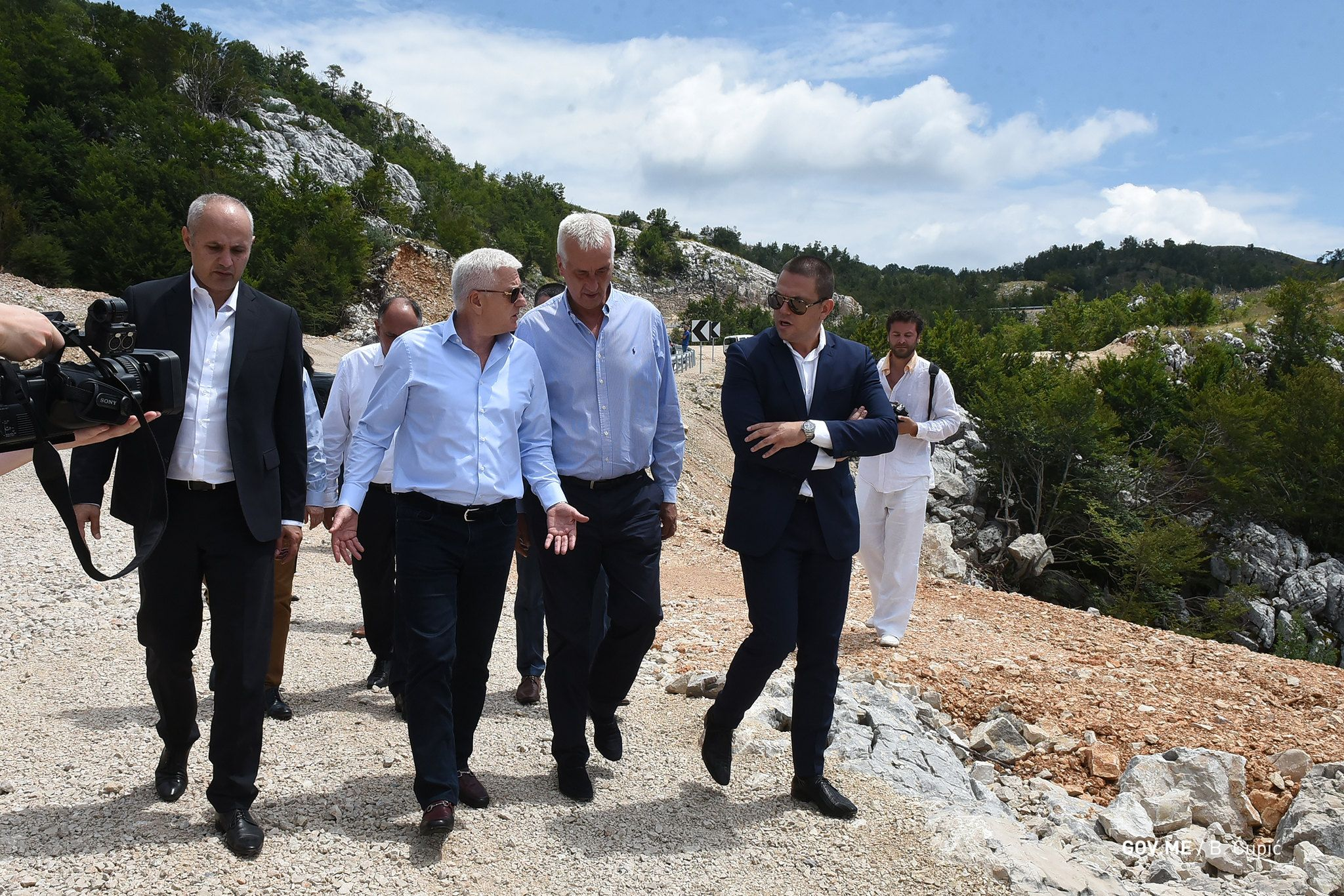 Lovćen Krstac Road Finished Development of New and Modern Montenegro2