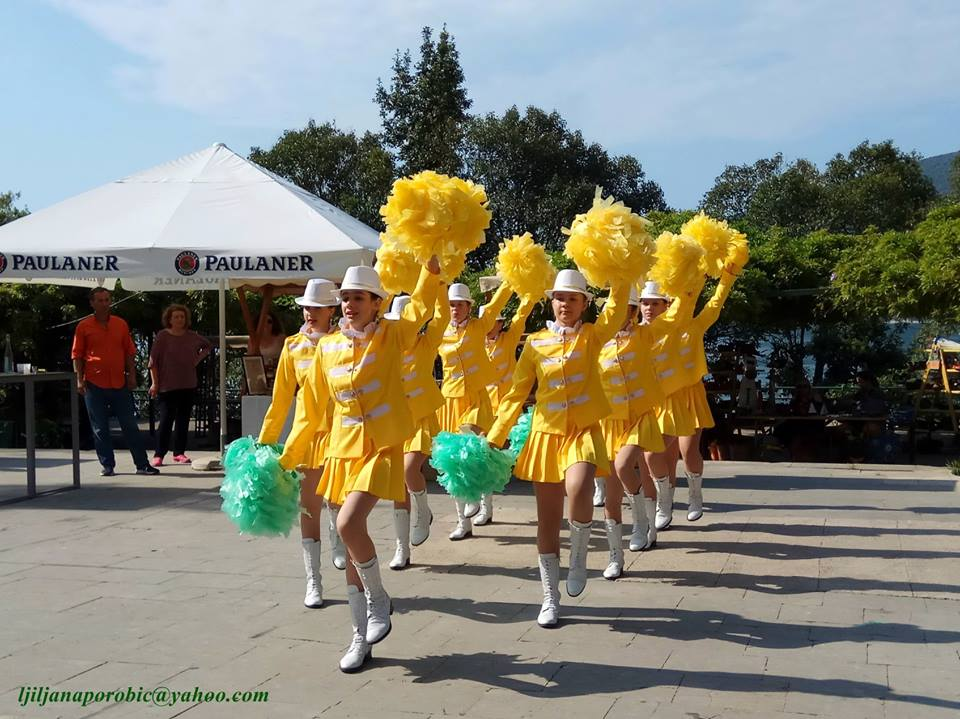 Majorettes From Herceg Novi to Demonstrate Their Skills in Podgorica 3