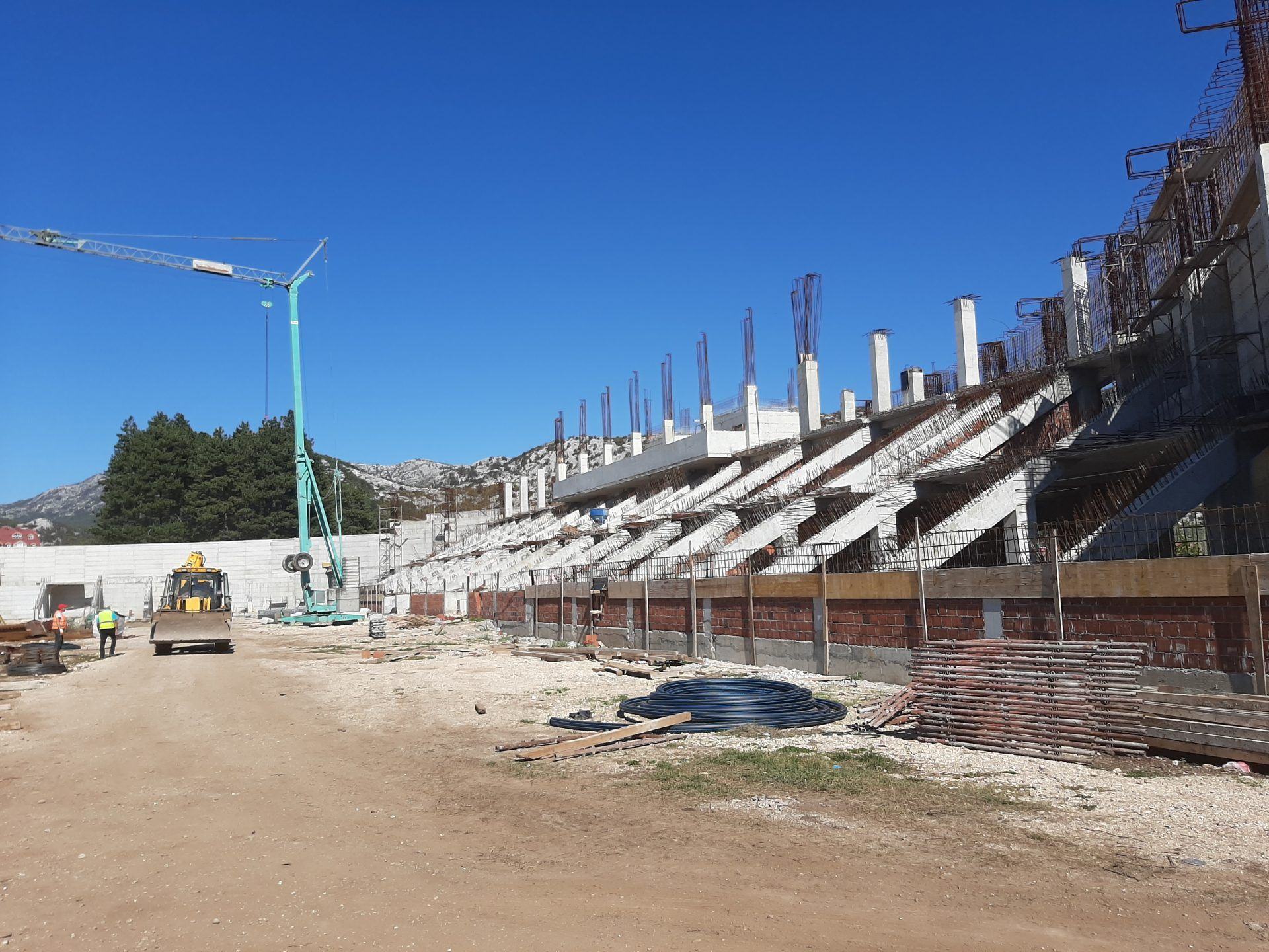 New Football Stadium in Cetinje Biggest Sport Infrastructure Project in Montenegro 2