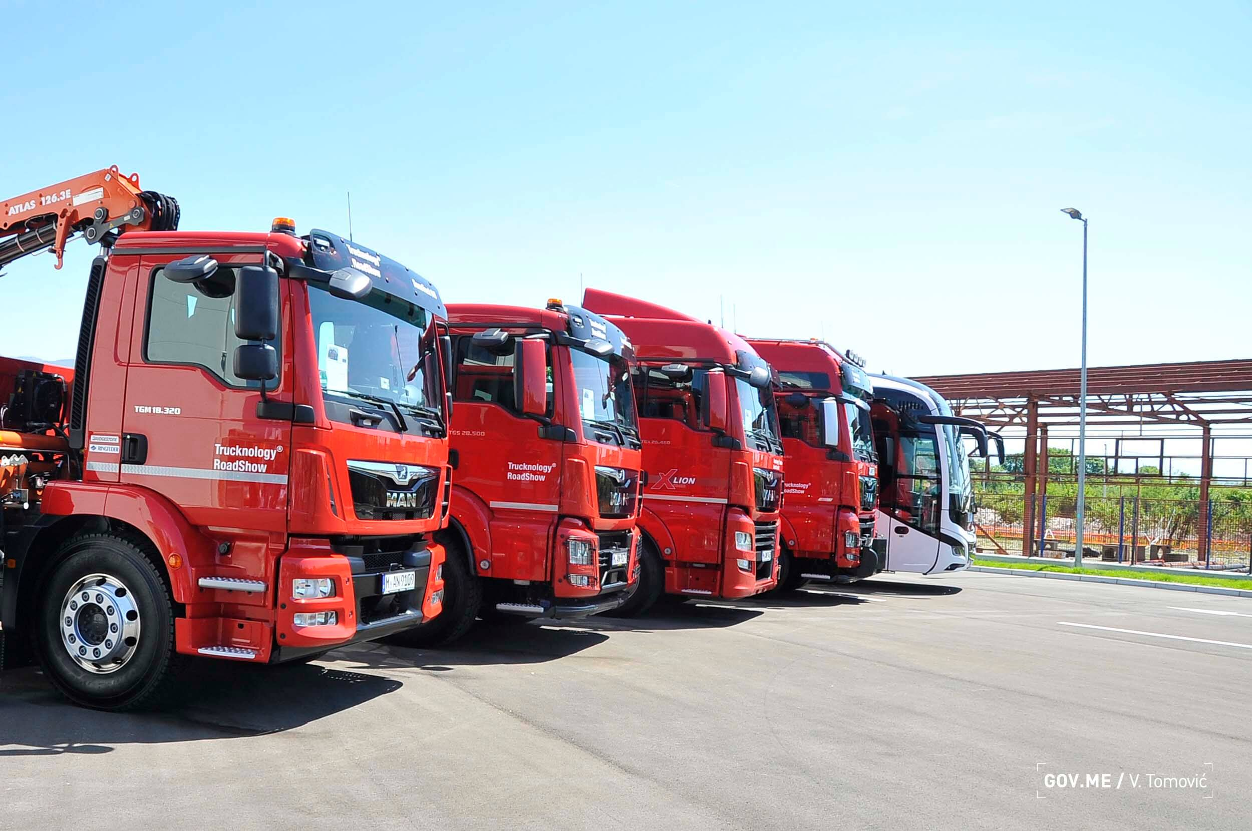 New MAN Truck and Bus Centre Opened in the town of Danilovgrad