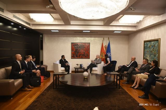 PM Marković Hosts IMFs Delegation Economic Growth of Montenegro Exceeded Expectation 2