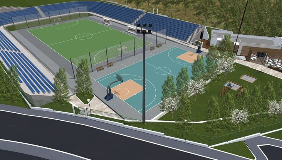 Stadium of Little Sports Reconstructed by the End of 2019 3