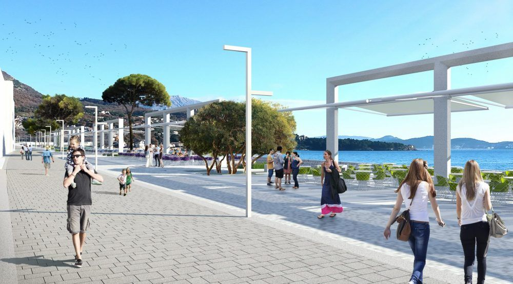 Sutomore to get Promenade and the Square Worth 5.5 Million EUR
