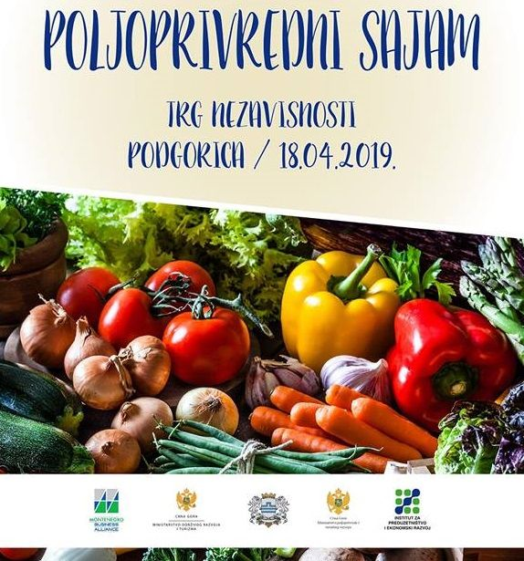 Third Agricultural Fair in Podgorica on Thursday 3