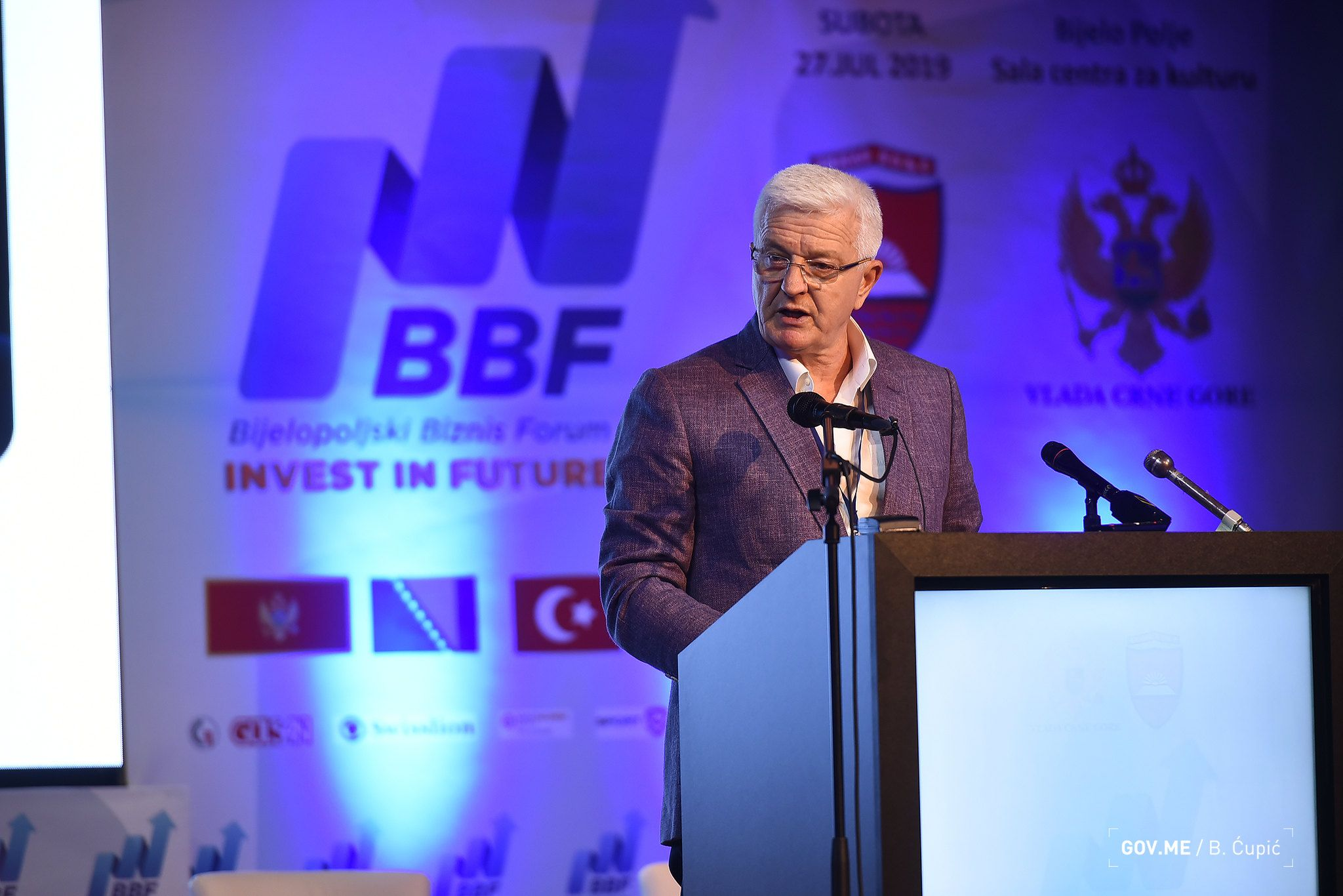 Business Forum Bijelo Polje Government Invested 1 Billion EUR in North Montenegro1