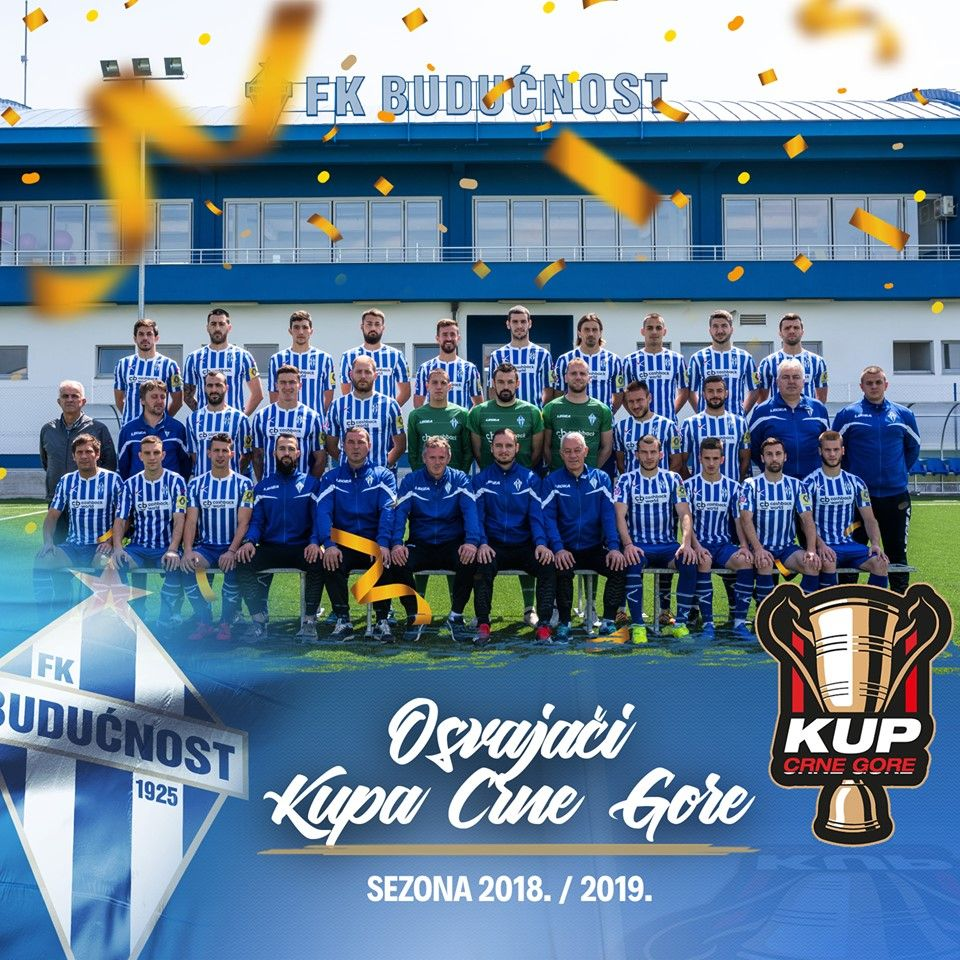 Football Club Budućnost Won the Montenegrin Cup 2018 19