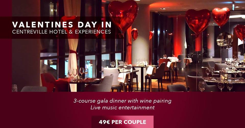 Valentines Day CentreVille Hotel