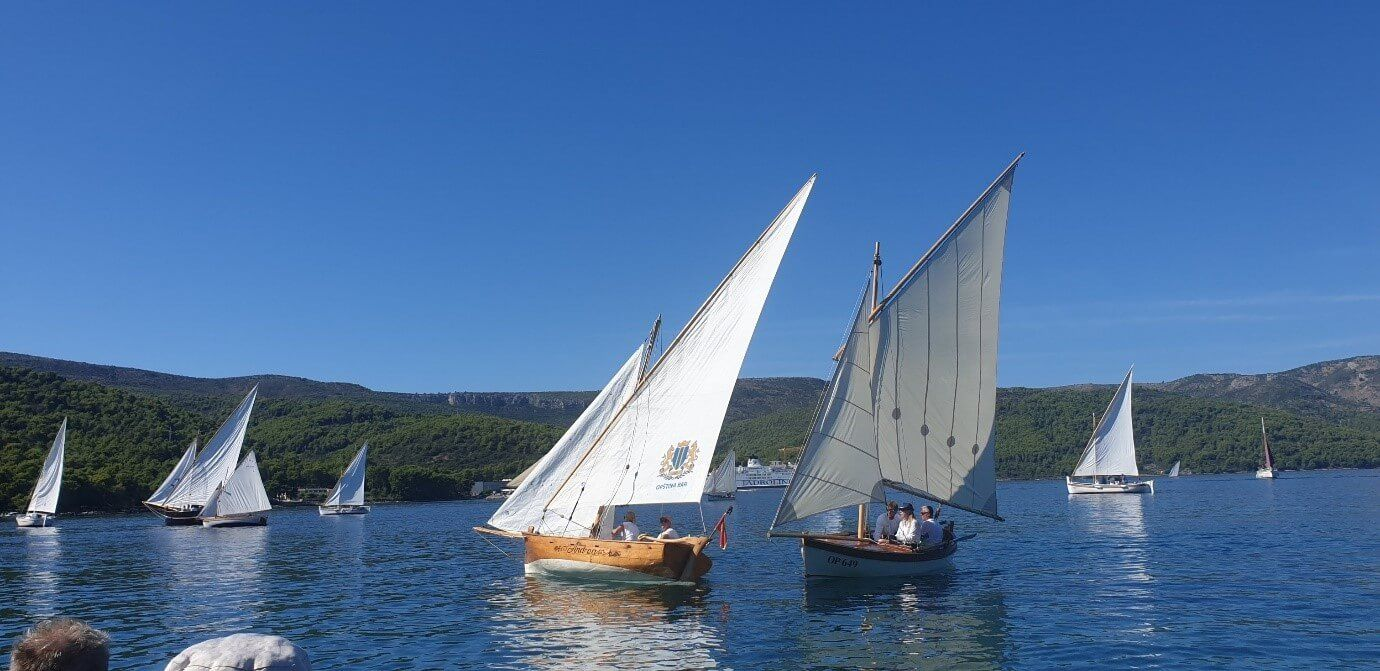 Wooden Boat Builders Bokovac from Bar Honorary Guests of Maritime Heritage Festival in Croatia