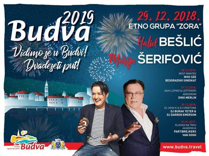 new year program budva