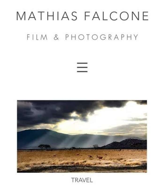 Matthias Falcone, Famous Travel Photographer, in Visit to Montenegro