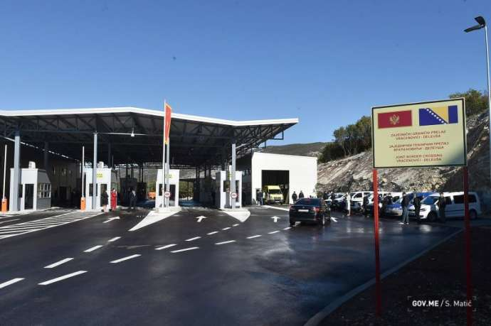 Joint Border Crossings To Be Built By Montenegro and Bosnia and Herzegovina