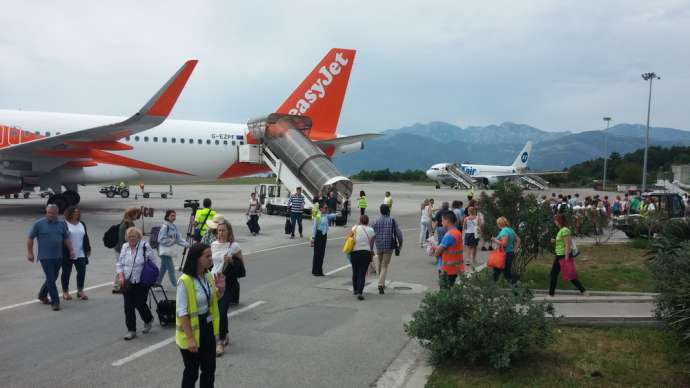 Airports of Montenegro Plans Investments of One Million Euros
