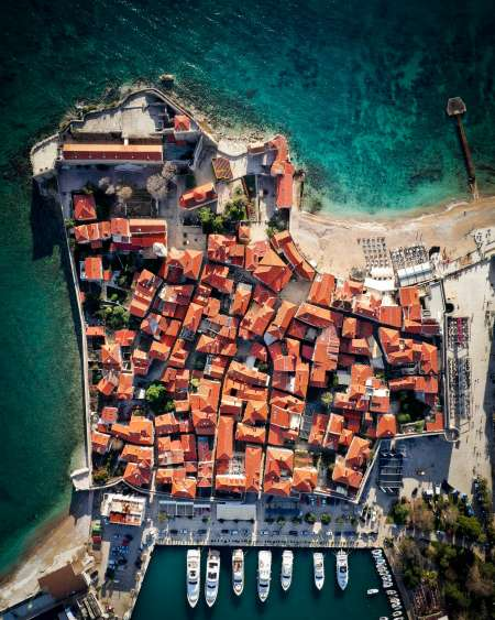 Old Town Budva - A Different Perspective