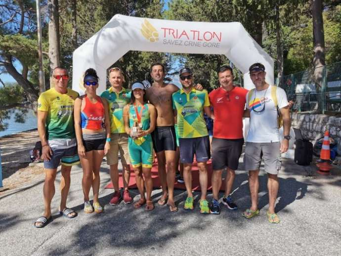 Triathlon and Aquathlon Races Held Last Weekend in Boka