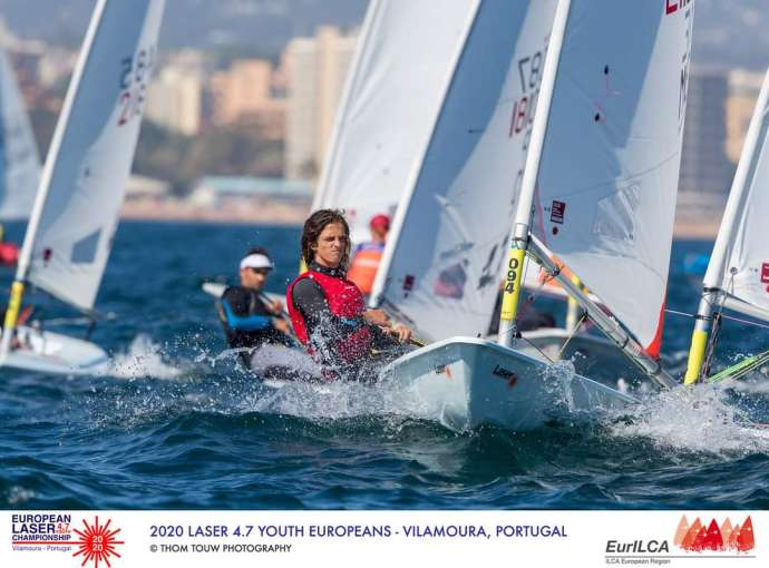 Nikola Golubović Finishes European Laser 4.7 Championship in 45th Place